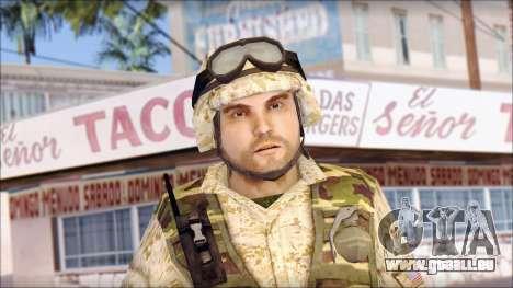 USA Soldier pour GTA San Andreas troisième écran