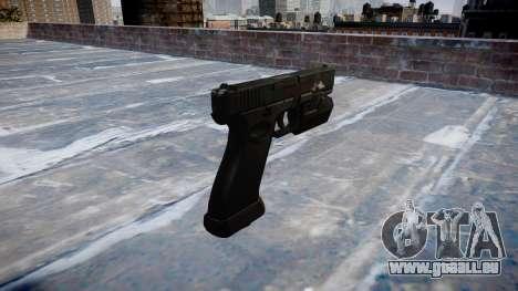 Pistolet Glock 20 fantômes pour GTA 4 secondes d'écran