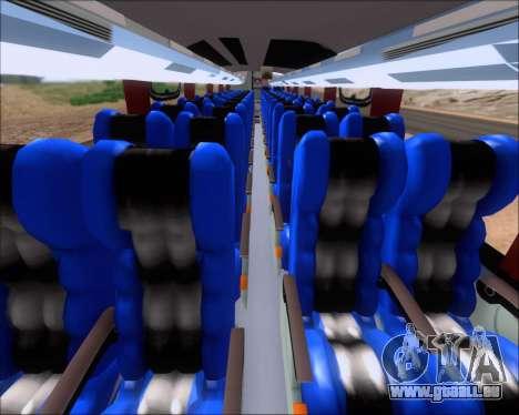 Busscar Vissta Buss LO Faleca für GTA San Andreas Rückansicht
