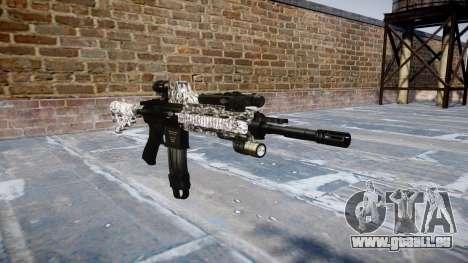 Automatische Gewehr Colt M4A1 Diamant für GTA 4