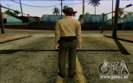 Police (GTA 5) de la Peau 1 pour GTA San Andreas deuxième écran