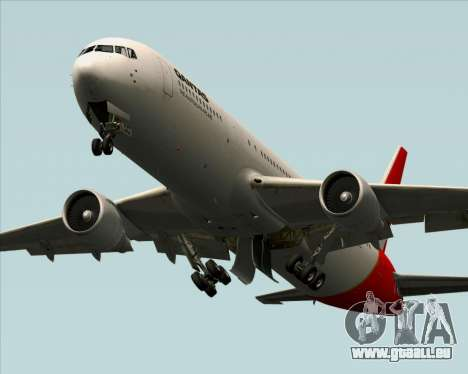 Boeing 767-300ER Qantas pour GTA San Andreas vue de dessous