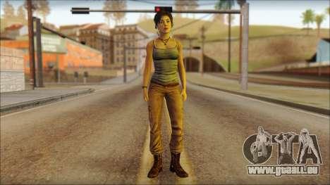 Tomb Raider Skin 11 2013 für GTA San Andreas