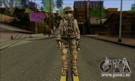 Task Force 141 (CoD: MW 2) Skin 7 pour GTA San Andreas