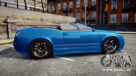 GTA V Enus Cognoscenti Cabrio für GTA 4 linke Ansicht