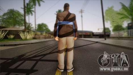 Russian Mafia Skin pour GTA San Andreas deuxième écran
