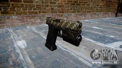 Pistolet Glock 20 en fibre de carbone pour GTA 4