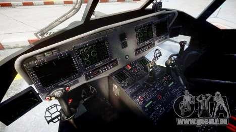 Sikorsky MH-X Silent Hawk [EPM] v2.0 pour GTA 4 Vue arrière