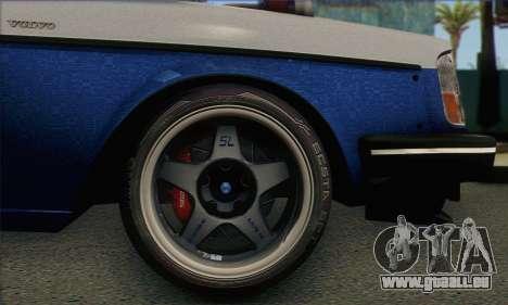 Volvo 242 V6 Twin Turbo 1983 - Stock pour GTA San Andreas sur la vue arrière gauche