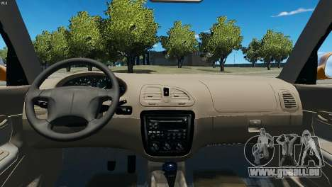 Daewoo Nubira I Wagon CDX US 1999 für GTA 4 Rückansicht