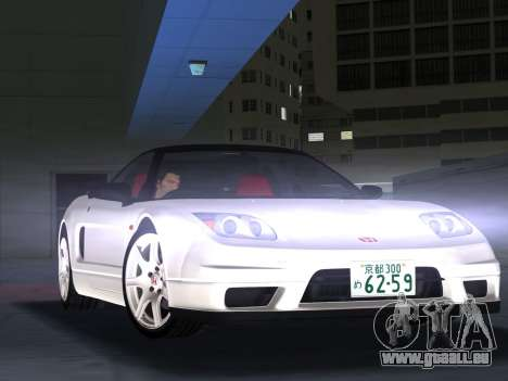 Honda NSX-R pour une vue GTA Vice City de la gauche
