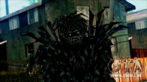 Manhunt Ped 23 pour GTA San Andreas troisième écran