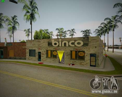 Cassé Binco magasin pour GTA San Andreas