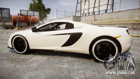 McLaren 650S Spider 2014 [EPM] Bridgestone v3 pour GTA 4 est une gauche