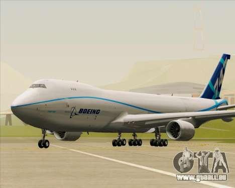 Boeing 747-8 Cargo House Livery pour GTA San Andreas laissé vue