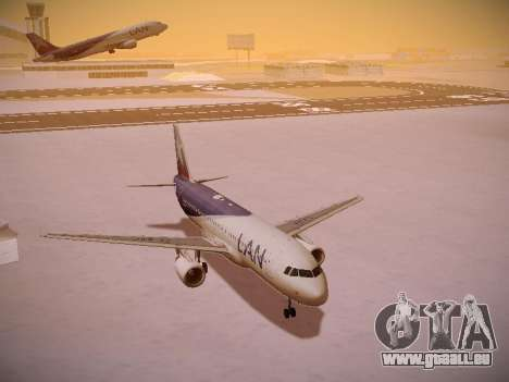 Airbus A320-214 LAN Airlines pour GTA San Andreas salon