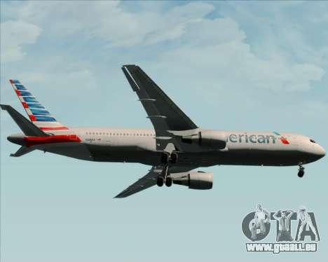 Boeing 767-323ER American Airlines für GTA San Andreas Seitenansicht