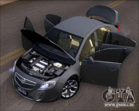 Opel Insignia OPC für GTA San Andreas Seitenansicht