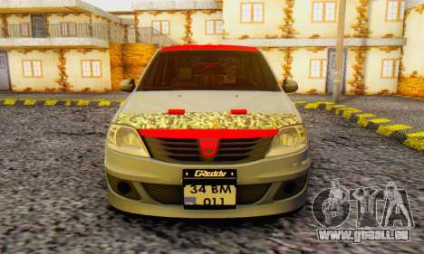 Dacia Logan Turkey Tuning für GTA San Andreas Rückansicht