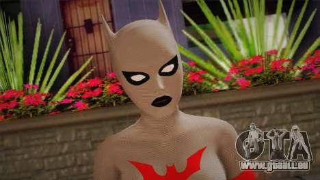 The Mystery of Batwoman für GTA San Andreas dritten Screenshot
