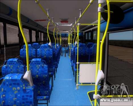 Caio Induscar Apache S21 Volksbus 17-210 Manaus pour GTA San Andreas vue intérieure