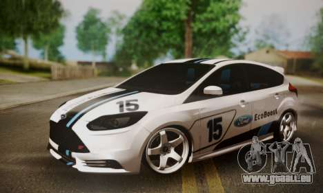 Ford Focus ST Eco Boost für GTA San Andreas