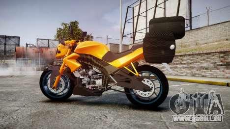 Yamaha V-ixion 150cc für GTA 4 linke Ansicht