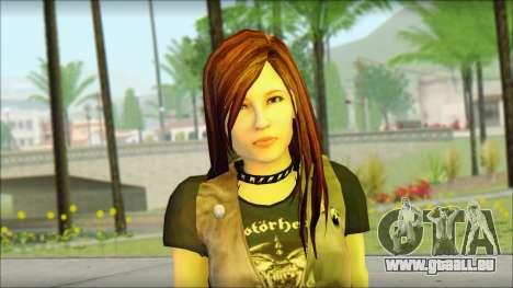 Bike Girl pour GTA San Andreas troisième écran