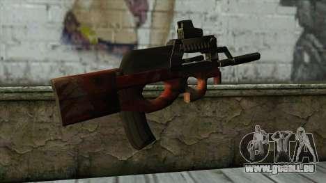 P90 from PointBlank v3 für GTA San Andreas zweiten Screenshot