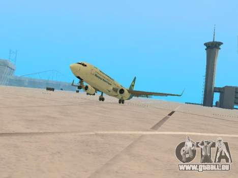 Boeing 737-84R Ukraine International Airlines pour GTA San Andreas