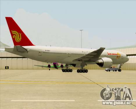 Boeing 777-200ER Air China pour GTA San Andreas salon