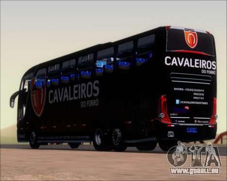 Marcopolo Paradiso G7 1600LD Scania K420 für GTA San Andreas Unteransicht