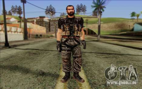 Les soldats de la Rogue Warrior 1 pour GTA San Andreas