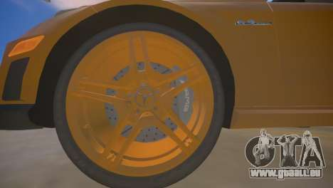 Mercedes-Benz E63 AMG для GTA 4 pour GTA 4 est une vue de dessous