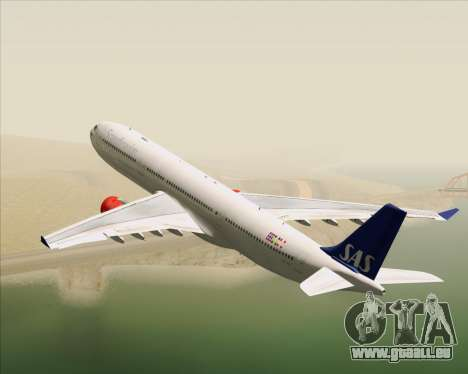 Airbus A330-300 Scandinavian Airlines System. pour GTA San Andreas