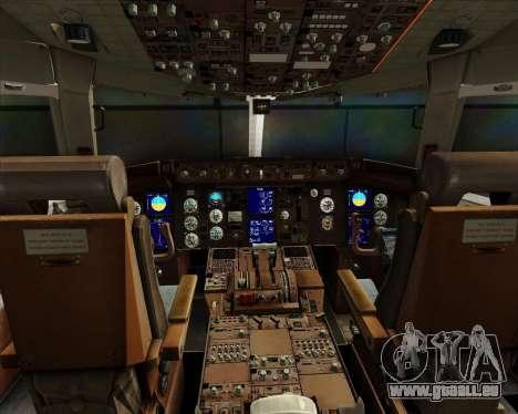 Boeing 767-300ER Australian Airlines für GTA San Andreas Innen