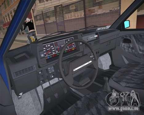 ВАЗ 2109 à Faible Classique pour GTA San Andreas vue de droite