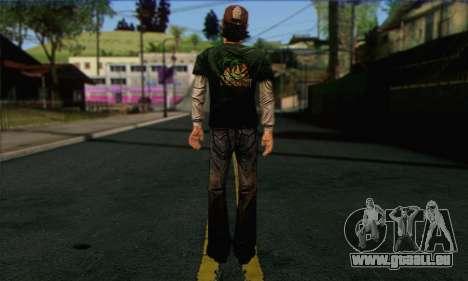 Kenny from The Walking Dead v1 für GTA San Andreas zweiten Screenshot