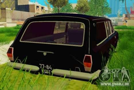 GAS-24-12 Leichenwagen für GTA San Andreas zurück linke Ansicht