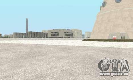 De la neige pour GTA Pénale de la Russie bêta 2 pour GTA San Andreas quatrième écran