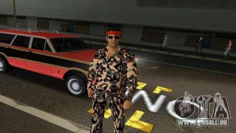 Camo Skin 08 GTA Vice City pour la troisième écran