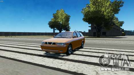 Daewoo Nubira I Wagon CDX US 1999 pour GTA 4 est une gauche