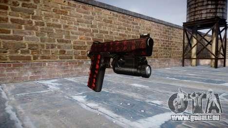Pistolet Kimber 1911 Art de la Guerre pour GTA 4