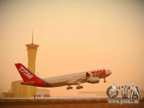 Airbus A330-200 TAM Airlines pour GTA San Andreas laissé vue