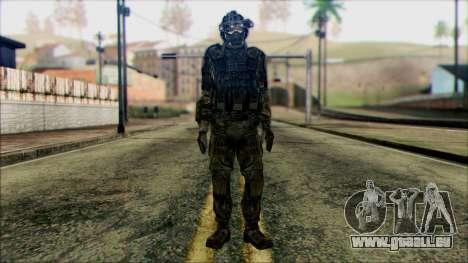 Les soldats de l'équipe de Fantôme 1 pour GTA San Andreas