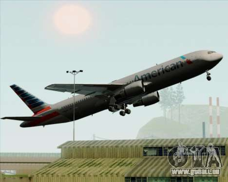 Boeing 767-323ER American Airlines pour GTA San Andreas roue