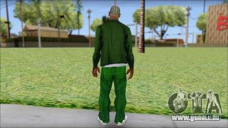 New CJ v2 pour GTA San Andreas deuxième écran