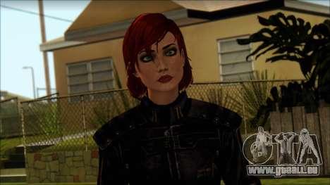 Mass Effect Anna Skin v8 für GTA San Andreas dritten Screenshot