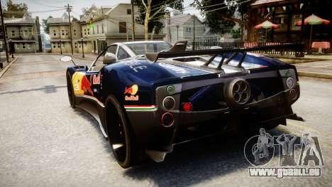 Pagani Zonda Tricolore für GTA 4 linke Ansicht