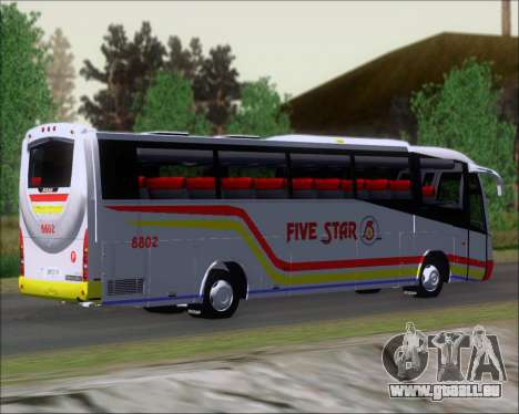 Irizar MQ2547 Five Star 8802 für GTA San Andreas Rückansicht